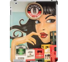 Beer and pinup iPad Case/Skin