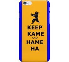 Keep Kame and Hame Ha Iphone case iPhone Case/Skin