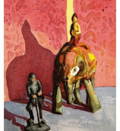 Tin elephant Sticker