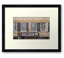 White Elephant Saloon  Framed Print
