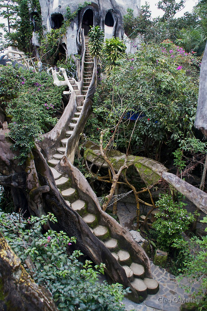 The Crazy House, Dalat, Vietnam by Glen O'Malley