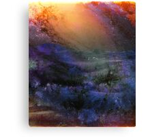 Ambient Galaxy - Abstract Print Canvas Print