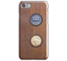 Amperes Gauge iPhone Case/Skin