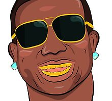 Gucci mane by EMREL