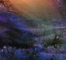 Ambient Galaxy - Abstract Print by Tony Gaglio