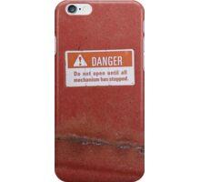 Danger iPhone Case/Skin