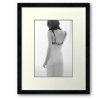 A Woman Framed Print