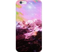 Crystal Summit - Abstract Art Print iPhone Case/Skin