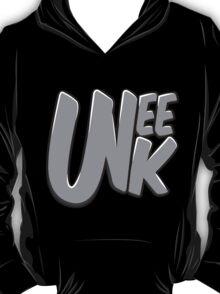 """UNEEK """"Bubble Gum"""" Grayscale logo  T-Shirt"""