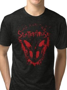 Splatterhouse Cover Tri-blend T-Shirt