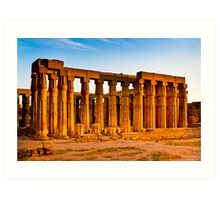 Luxor Ruins - Memories of Ancient Egypt Art Print