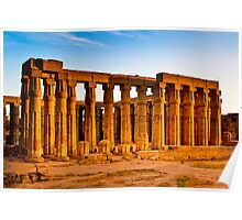Luxor Ruins - Memories of Ancient Egypt Poster