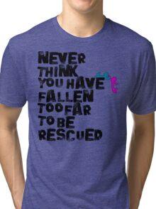 Rescued  Tri-blend T-Shirt
