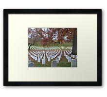 Arlington Cemetery Framed Print
