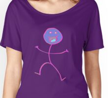 Happy Stickman  Women's Relaxed Fit T-Shirt