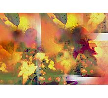 Abstract flower experience Photographic Print
