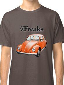 Das VW-Freaks Orange Beetle (No BG) Classic T-Shirt