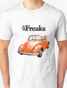 Das VW-Freaks Orange Beetle (No BG) T-Shirt