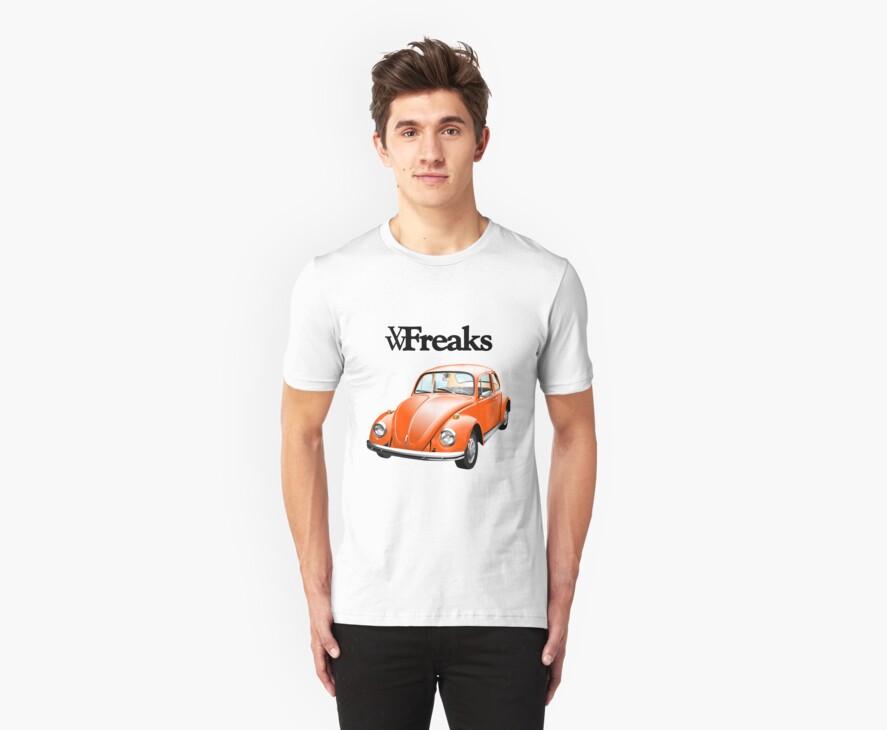 Das VW-Freaks Orange Beetle (No BG) by VW-Freaks