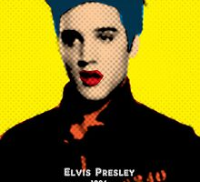 Elvis Presley with Andy Warhol Pop Art by thejoyker1986