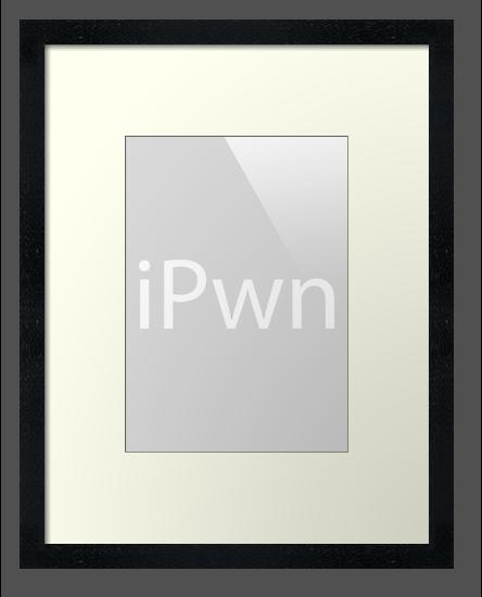 iPwn (Grey) by Studio Momo╰༼ ಠ益ಠ ༽