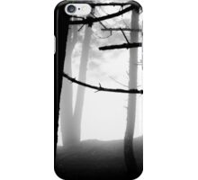 B&W Forest iPhone Case/Skin