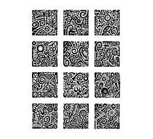 Doodle Dozen Photographic Print