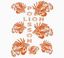 Invasion de poissons-lions Unisex T-Shirt