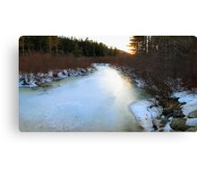 View From the FootBridge Canvas Print
