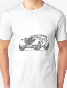 retro auto car T-Shirt