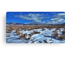 Winnemucca Ranch Valley Canvas Print