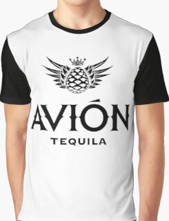 AVION TEQUILA Graphic T-Shirt
