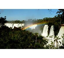 wonderful Iguassu Falls Photographic Print