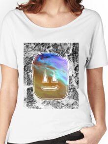 Sunset Face Women's Relaxed Fit T-Shirt
