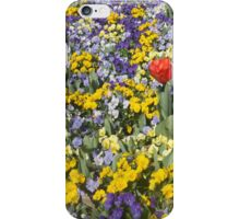 Flower Bed iPhone Case/Skin