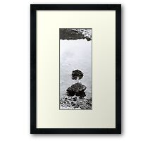 Islands in the Puddle VRS2 Framed Print
