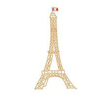 Eiffel Tower by Lulochi