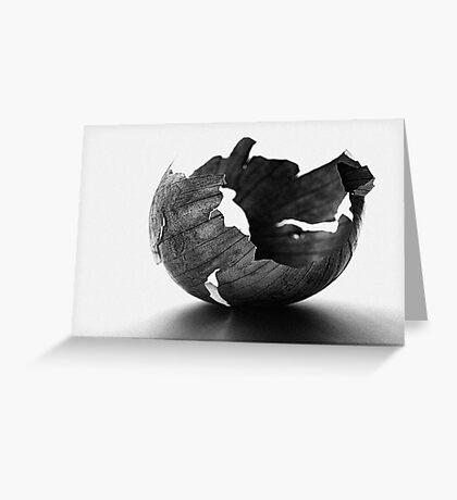 Onion Peel VRS2 Greeting Card