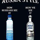 Russia Vodka Style case Ipad by worldart