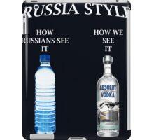 Russia Vodka Style case Ipad iPad Case/Skin