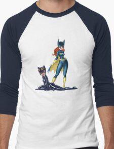 Gotham Girls Men's Baseball ¾ T-Shirt