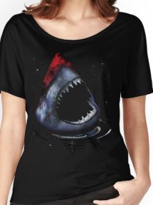 12th Doctor Who Star/Space Shark T-Shirt Ver. 2 Women's Relaxed Fit T-Shirt