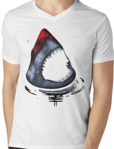 12th Doctor Who Star/Space Shark T-Shirt Ver. 2 Mens V-Neck T-Shirt