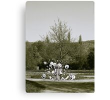 Femine at the Crossing VRS2 Canvas Print