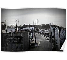 Tide Mill Jetty, Woodbridge UK Poster