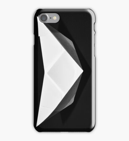 Paper boat iPhone Case/Skin