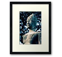 Ancient Buddha, Thailand  Framed Print