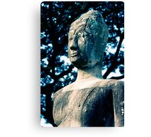 Ancient Buddha, Thailand  Canvas Print