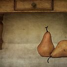 Pears and miniature table by dgugeri