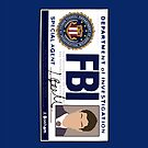 Dean's FBI Badge by blainageatrois